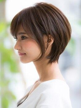トゥーナ 表参道(tona)の写真/気になり始めの白髪もしっかりとカバー!明るさも楽しめる最新の白髪染めがおすすめです◎