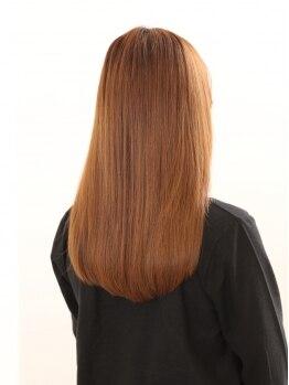 ディアーズヘアーアンドエステティック (Dears Hair&Esthetic)の写真/なりたいイメージ×ダメージレベルに応じた薬剤をセレクト。生まれつきの直毛のようなナチュラルさが自慢★