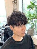 【S字カール】×【スパイラル】MIXパーマ