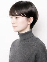 アルテヘアー(arte HAIR)タイトなマッシュショート/黒髪