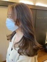 ナナナパレナ 心斎橋店(nanana parena)髪質改善・艶髪・シースルーハイライト韓国スタイル♪