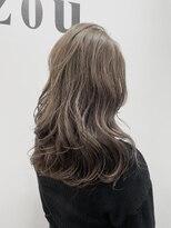 ヘアーアンドメイク ジズー(hair&make zizou)ミルクティーベージュ