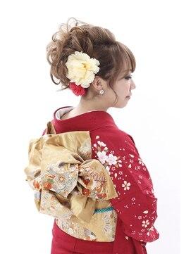 振袖髪型(成人式&結婚式) リリー 六本木(Lily)カールアップ