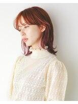 オト(Oto)ラズベリーピンクのミディアムスタイル