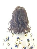 レザボア ヘアーアンドビューティー ハイブ店(reservoir Hair&Beauty Haibe)大人かわいいパーマスタイル