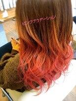 リゾートフォーヘアー 嵯峨店(ReSORT FOR HAIR)ピンクグラデーション