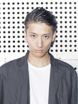 アルバム シブヤ(ALBUM SHIBUYA)オールバックグランジ刈り上げ_130