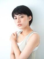 グエンコ(Guenco)黒髪 × ショートボブ