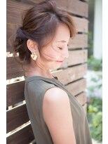 カイル (KAIL)ヘアアレンジ☆ 3Dカラー ノットヘア