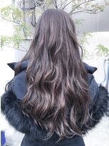 ノル(nol hair&spa)*シークレットハイライト×ルーズウェーブ*