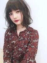 ☆blues style 54 夏ボブ☆毛先ニュアンスカール♪