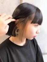 【e-hair】インナーカラー イヤリングカラー