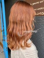 ヘアアンドビューティー クローバー(Hair&Beauty Clover)orange beige