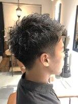 【ruf hair design】くせ毛を活かしたツーブロックスタイル