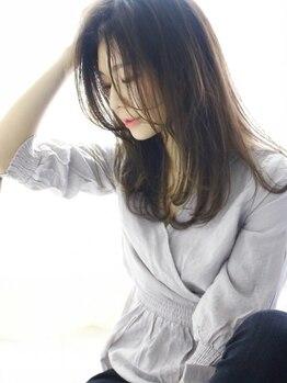エクシア(Ecxia)の写真/髪質改善メニューもご用意◎クセ毛やうねり・ダメージを根本から改善!うるツヤ髪があなたのものに★