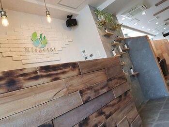 エヌフラクタル(Nfractal)の写真/癒しとくつろぎを追求した空間で、オーガニックによる健康的な美しさを♪是非一度ご来店ください!