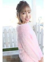 ジーナフクオカ(Zina FUKUOKA)Zina☆2019 Zina s/s ヘアアレンジ♪