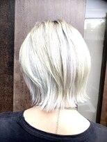 コレット ヘアー 大通(Colette hair)ホワイトベージュ