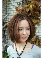 ヘアードレッサー アート(hair dresser aRt)グラデーションボブ