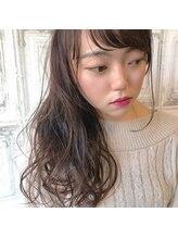 ミニム ヘアー(minim hair)【minim×日比】カラーでゆるふわ♪ラベンダーアッシュ