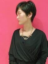 ユーアールデルタ(UR DELTA)【DELTA】黒髪 × モード