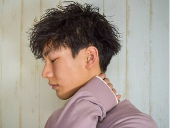 マルクヘアケア(MALQ HAIR CARE)の写真/《メンズカット+パーマ¥12100~》福井工大近くでメンズにもオススメ☆MALQで最新トレンドStyleに【福井】