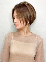 髪質改善/ホワイトアッシュ/ショートパーマ/クールショート/艶髪