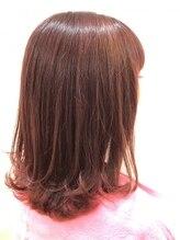 グラッド ヘアーアンドエステ(GLAD hair&esthe)毛先がエアリーなかっこかわいいスタイル