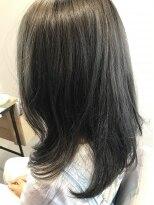 リアン ヘアー(Lien hair)深みのあるグレイジュカラー