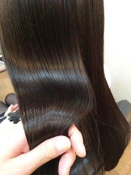 ブリード ヘアデザイン(breed hair design)の写真/リピーター急増中☆最上級の仕上がり・美しい髪の為なら''5step極上超音波トリートメント''で本格ケア!!
