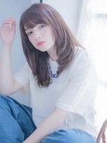 インシ(h&m insi)【insi】デザインカラー×王道レイヤーストレート