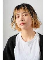 シアン ヘア デザイン(cyan hair design)【cyan】ニュアンスボブ