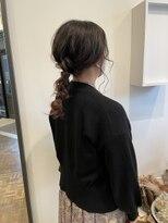 ヘアーアイスカルテット(HAIR ICI QUARTET)大人っぽヘアアレンジ