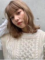 アンバースデー(UNBIRTHDAY)ブロンドベージュ/外国人風【宮武穂有】