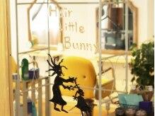 ヘアーリトルバニー(Hair Little Bunny)の雰囲気(2Fにあるサロンなので周りの目も気にならない☆)