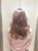 ヘアサロン ドット トウキョウ カラー 町田店(hair salon dot. tokyo color)【White pinkbeige】ダブルカラーカラーリスト田中【町田】