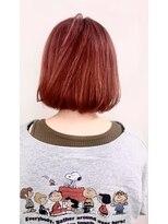 ソース ヘア アトリエ 京橋(Source hair atelier)【SOURCE】パッションピンク