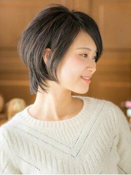 グラニュー(granew)の写真/再現性の高いカットで流行を取り入れつつ、あなたらしさを表現◎髪に優しい施術で素髪から美しくなれる♪