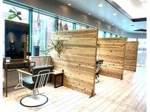 アトリエ タキ(atelier.taki)の雰囲気(お客様に少しでも安心して過ごして頂けるように席を半個室空間に)