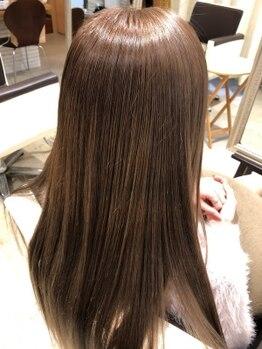 """マレア(MAREA)の写真/今話題の""""酸熱トリートメント""""で髪質改善!自分史上最高の手触りを体験してみて♪[立川]"""