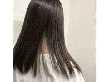 ジャックローズヘアプロデュース(JACK ROSE Hair Produce)の写真/【新規限定☆カット+縮毛矯正 ¥12960 →¥10368】クセ、うねりは丁寧な施術でキレイなストレートヘアに!