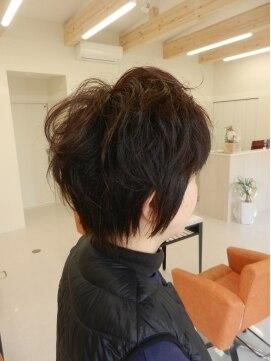 ヘアーメイクメアリーアン(Hair make Mary ann)春ショート♪