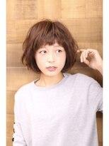 エスアール 真美ケ丘店(SR)【オン眉+ワンカール】簡単スタイリングショート