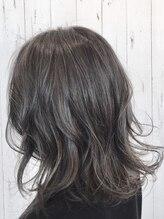 ヘアーガーデンハグム(hair garden hugm)外国人風透明感カラー