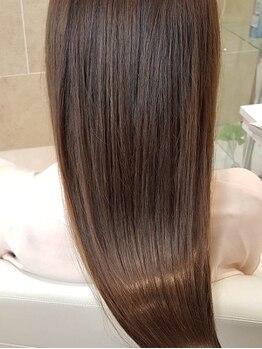 オレンジポップ 南船橋店(ORANGE POP)の写真/【南船橋◆当日予約OK】お悩みに合わせて選べるトリートメントを多数ご用意!うるツヤな美髪へ導きます*