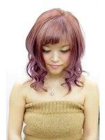 ヘアーサロン エール 原宿(hair salon ailes)(ailes原宿)style220クラシカル♪パープル姫カット