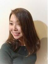 ブルームヘア 大宮(Bloom hair)ニュアンシーなゆる髪で今旬のこなれ感を。大人美人巻き