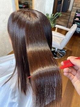 コト(KOTO)の写真/信じられますか?髪のツヤはすぐに取り戻せる!髪ツヤを戻していつまでも若々しい姿へ♪