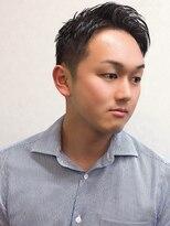 ルード(RUDO)清潔感アップ! できる男の黒髪ベリーショートスタイル