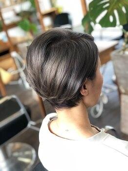 """マナヘアー(MANA HAIR)の写真/【あなたのこだわり+ライフスタイルを大切に◇】確かな技術と再現性ある""""似合わせカット""""を提供します♪"""